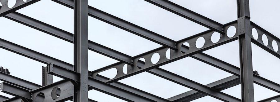 telai in acciaio con travi H