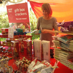 Keep This Cracker stall at The Festival of Thrift - Kirkleatham
