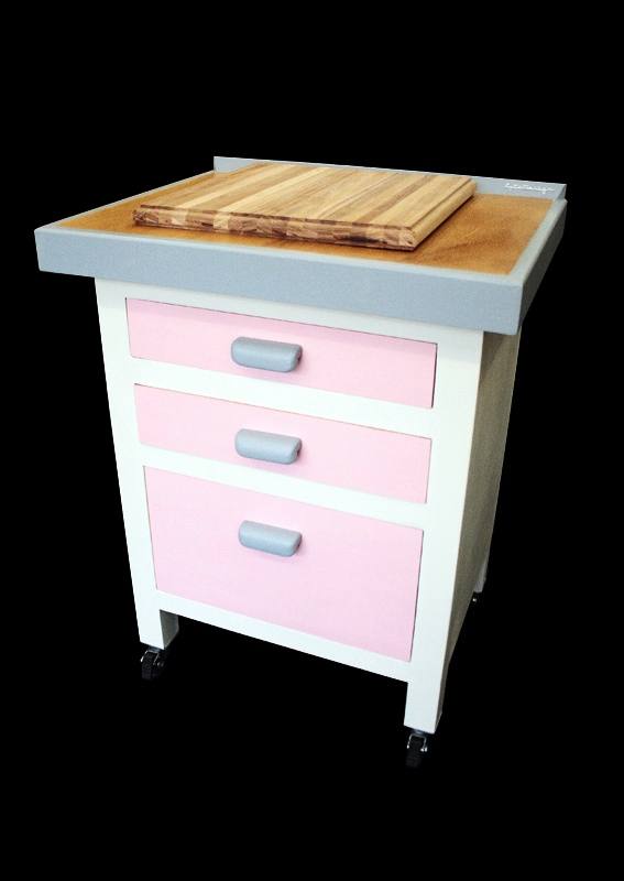 Memphis Mobile Kitchen Island