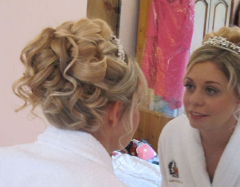 © Bridal Hair by Helen Tozer