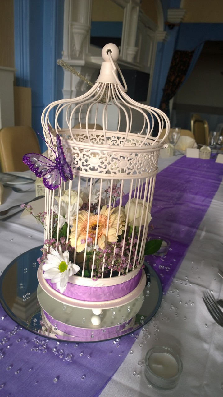 Birdcage centre piece
