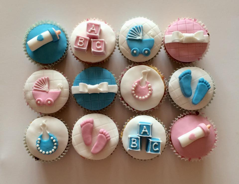 Boy/Girl Baby Shower Cupcakes