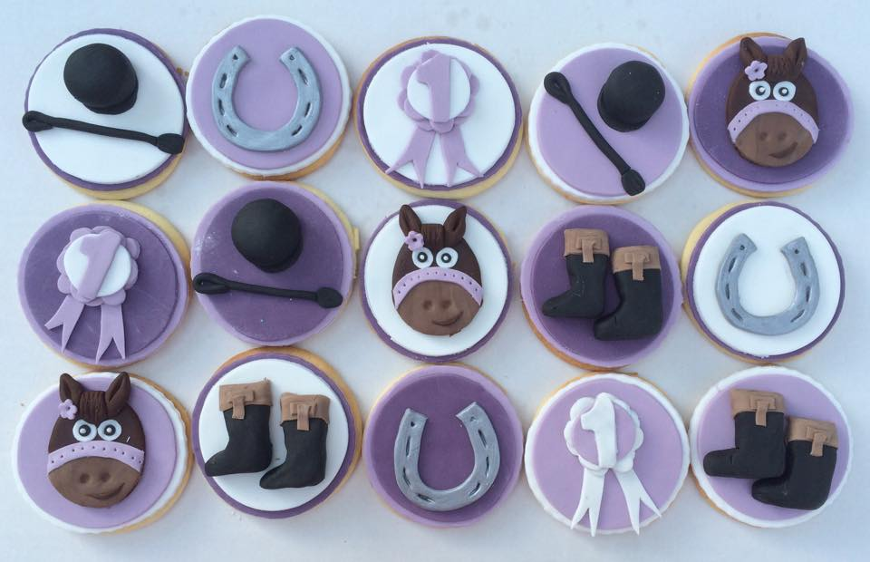 Horse Themed Biscuits
