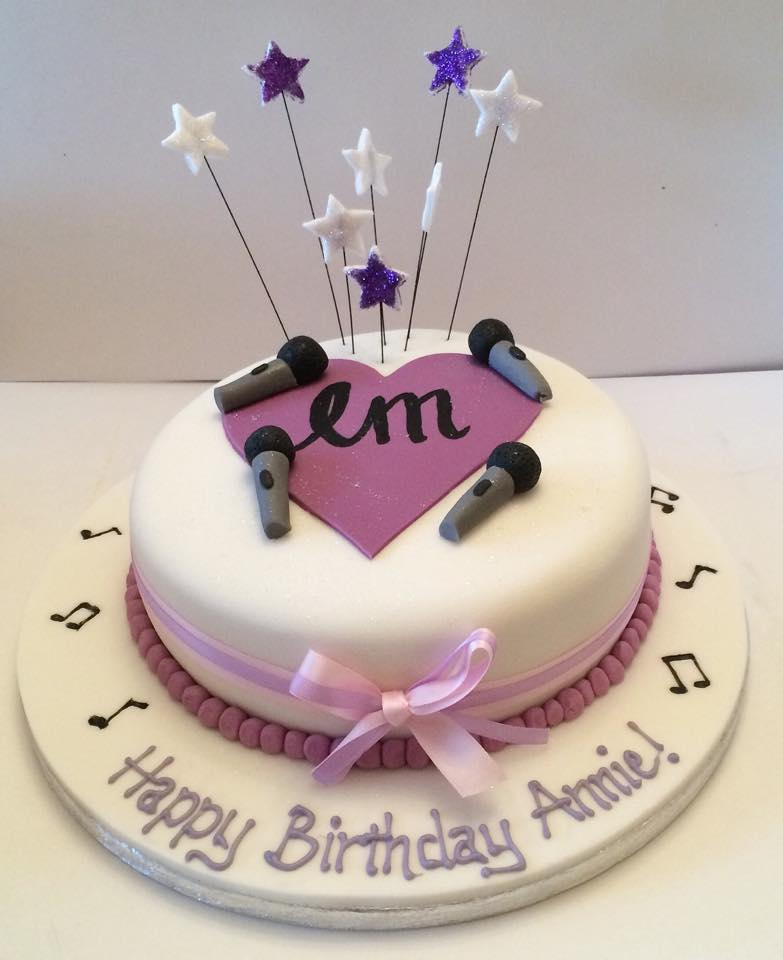 Little Mix Themed Cake