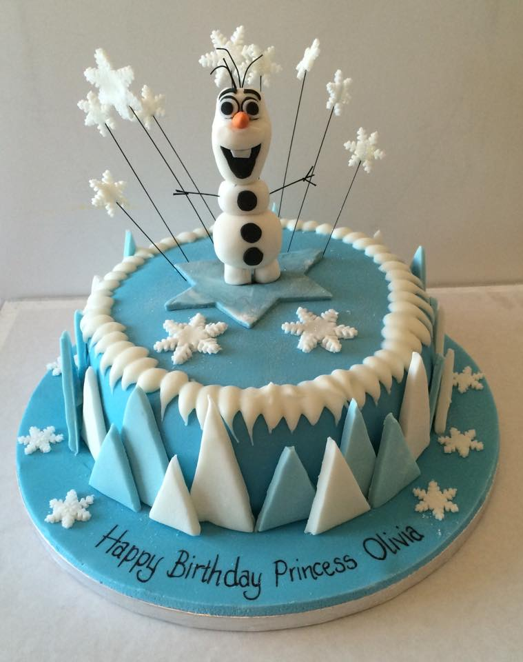 Olaf Frozen Themed Cake