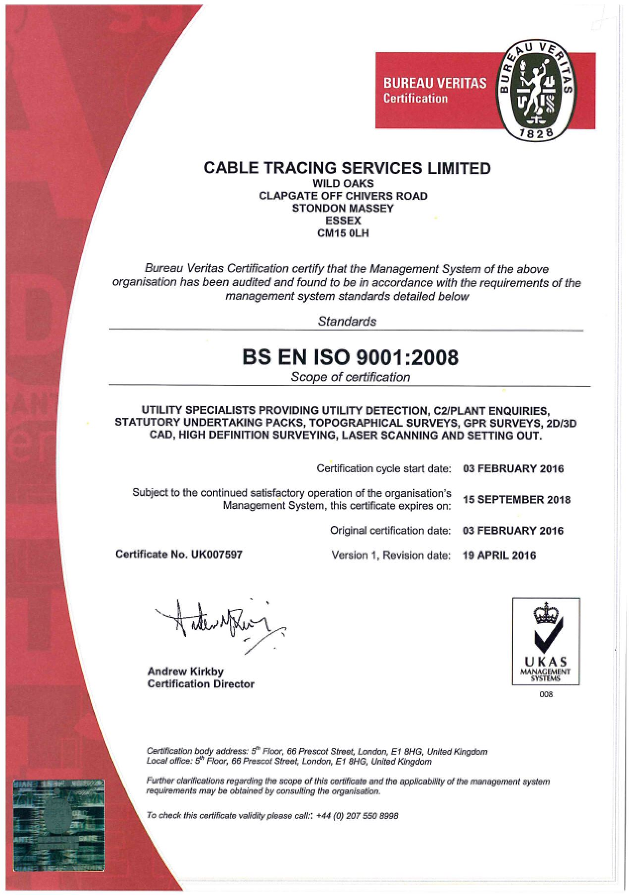 CTS ISO 9001