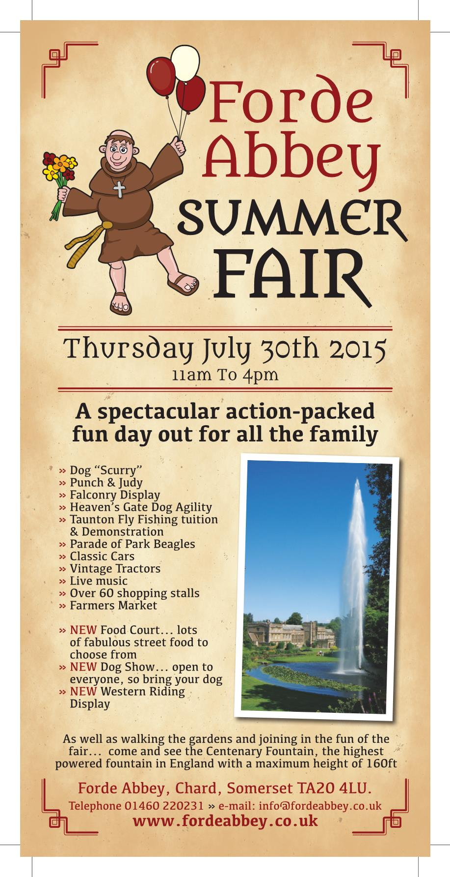Forde Abbey Summer Fair