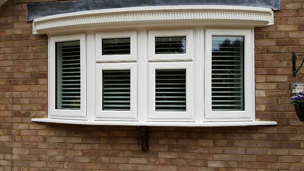Accoustic Sealed Units, in white PVCu frames dummy sashes