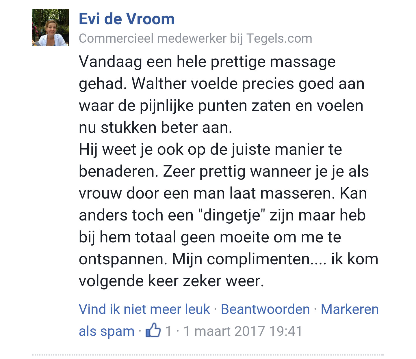 Relax Massage Eindhoven review