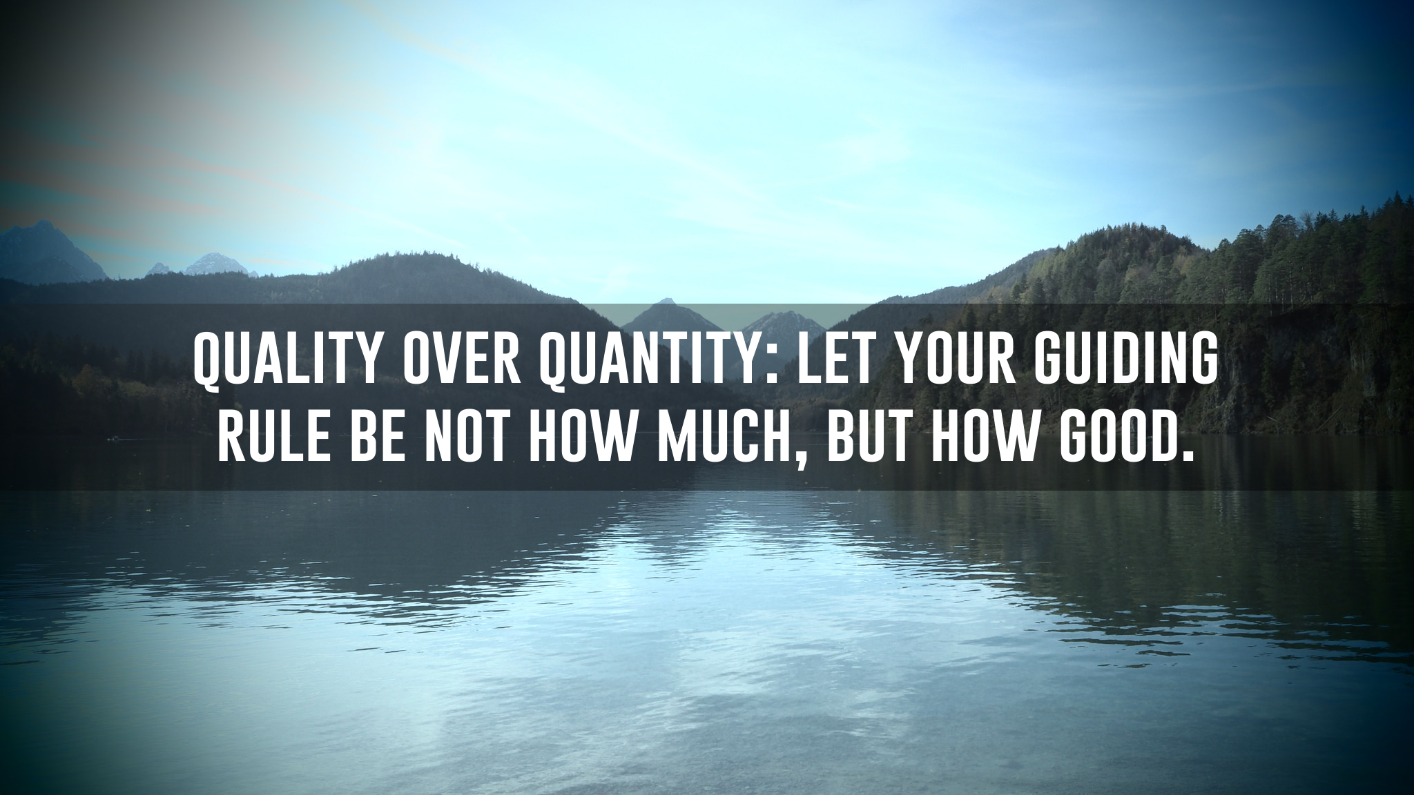 When You Are Buying Leads - It's Quality Over Quantity!