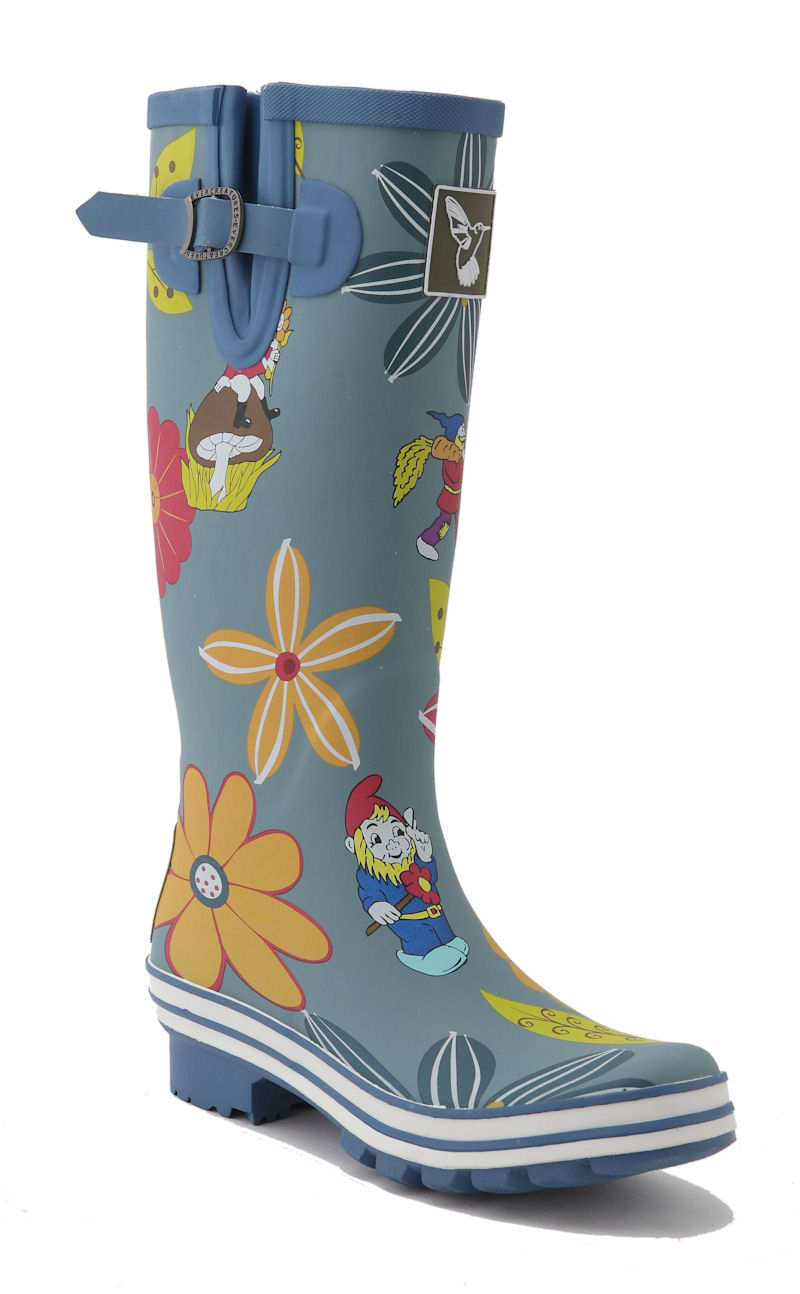 Single Dahlia Evercreatures Ladies Welly