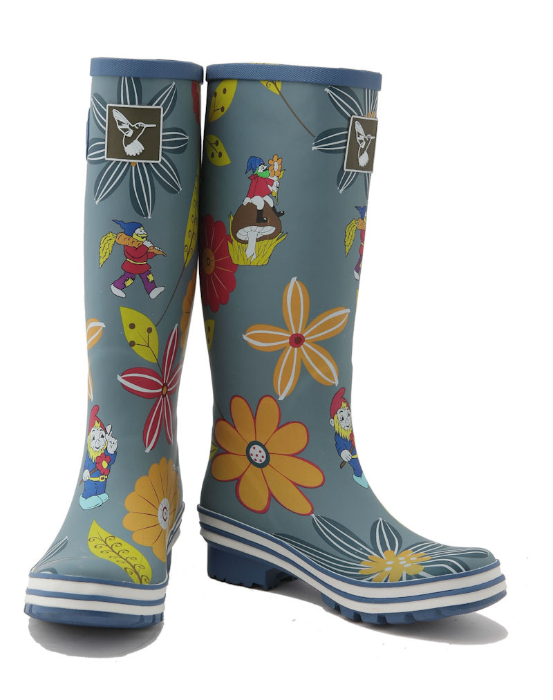 Dahlia Evercreatures Ladies Wellies Toes Apart