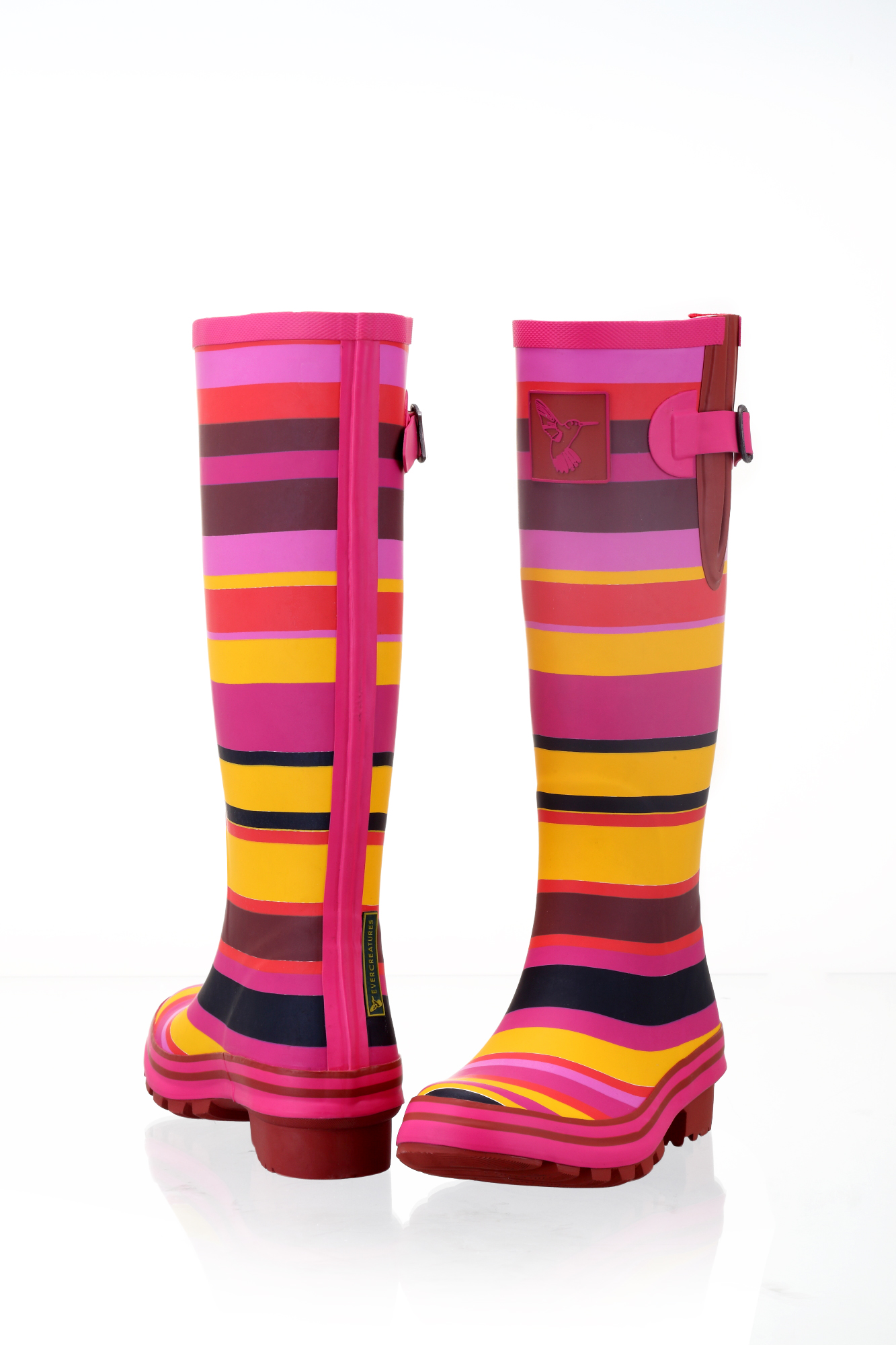 Fireline Ladies Evercreatures Wellies Back