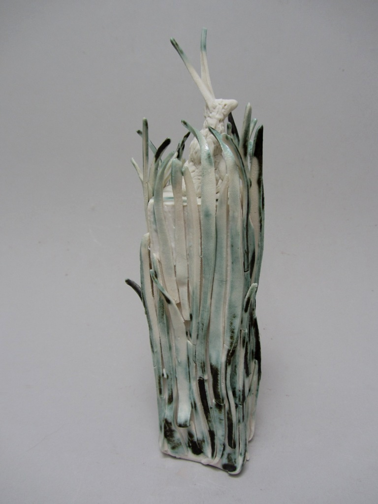 "Porcelain  9"" high  £250"