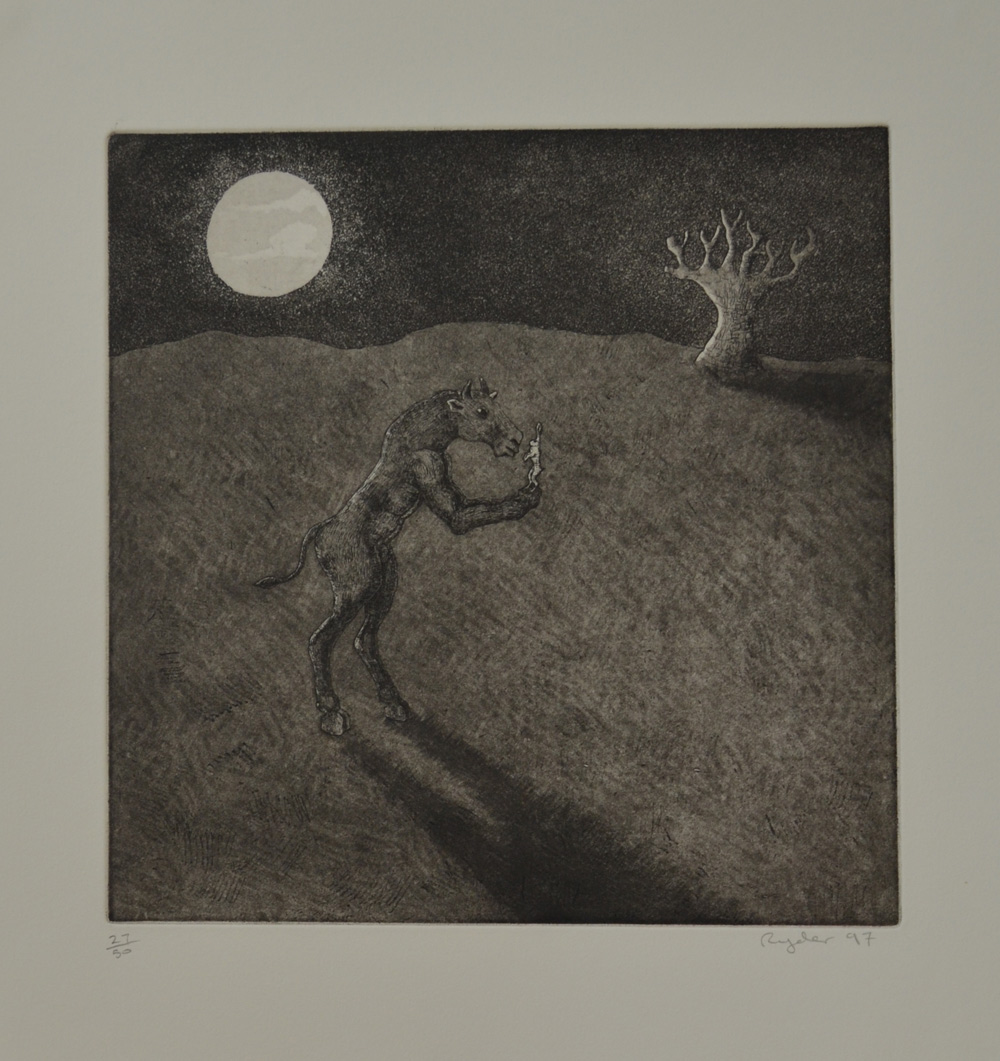 Etching with Aquatint  ed. 50  11.75 x 11.75   £350