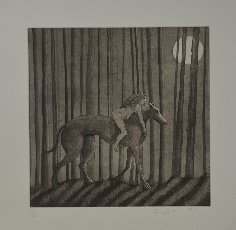 Etching with Aquatint  ed. 50  11.75 x 11.75  £395