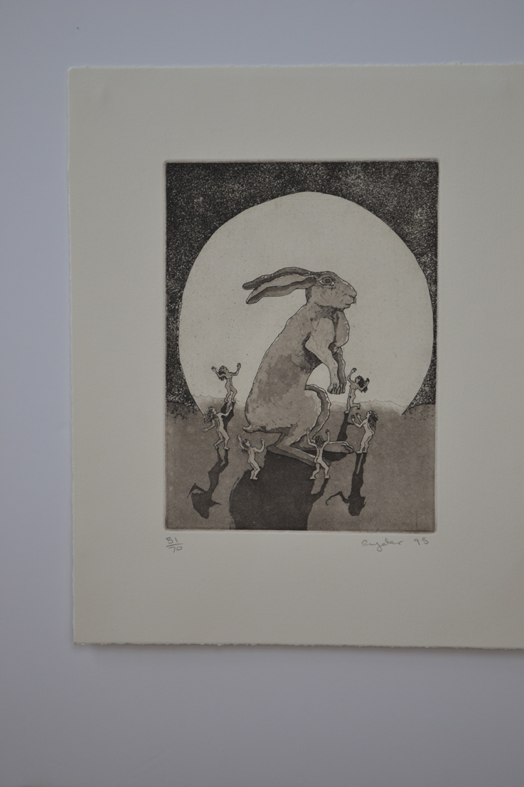 Etching with Aquatint  ed. 50  6.75 x 9.25  £350