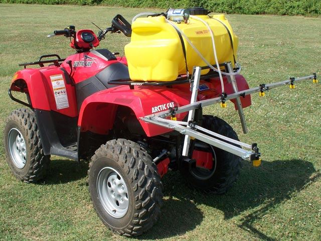 Quad sprayer