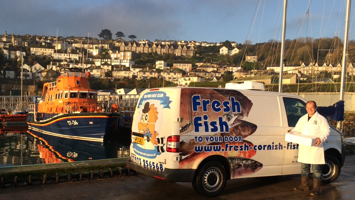 Buy fresh fish online from cornwall delivered to your home for Fresh fish delivery