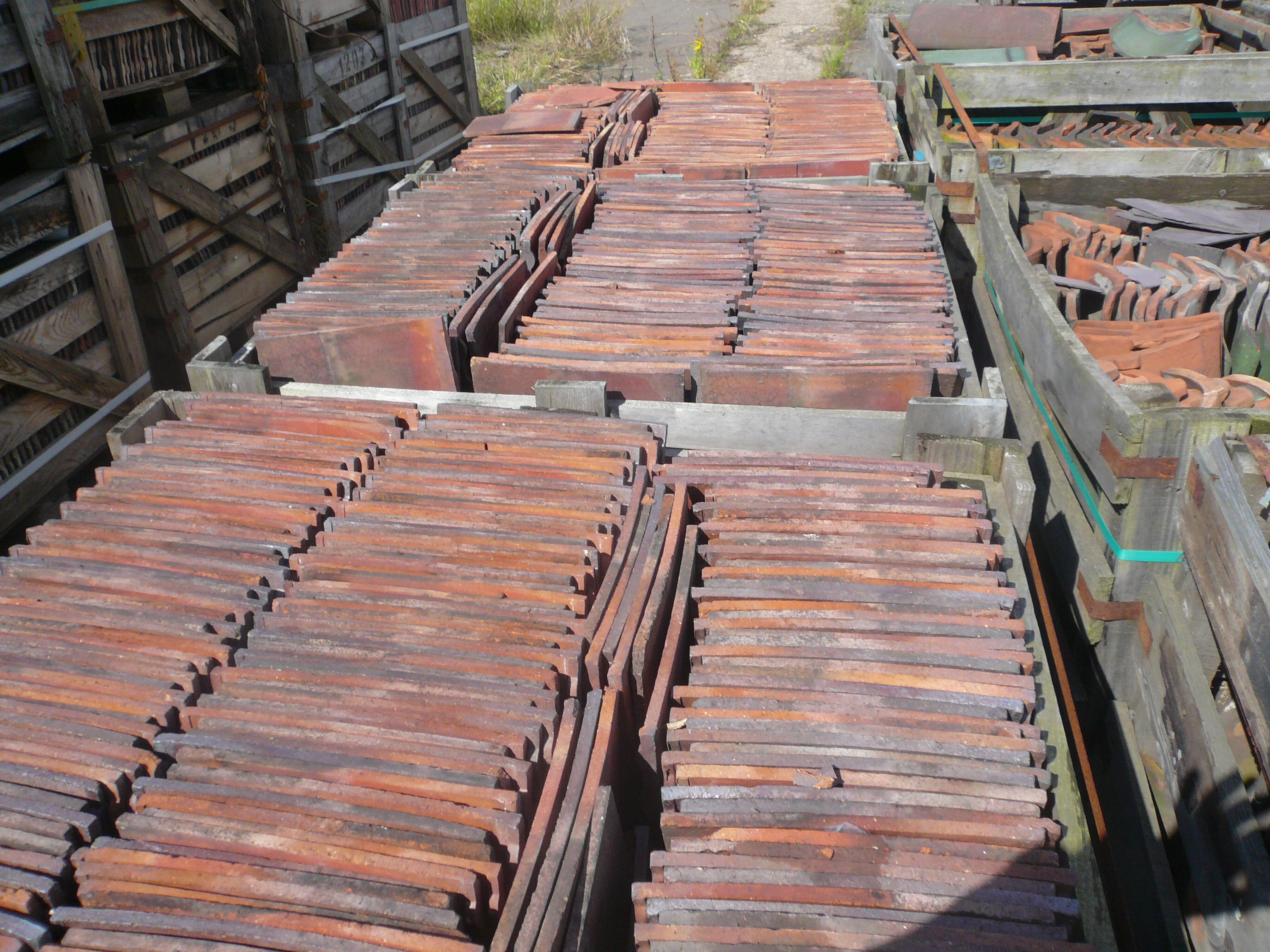 Reclaimed Roofing Materials