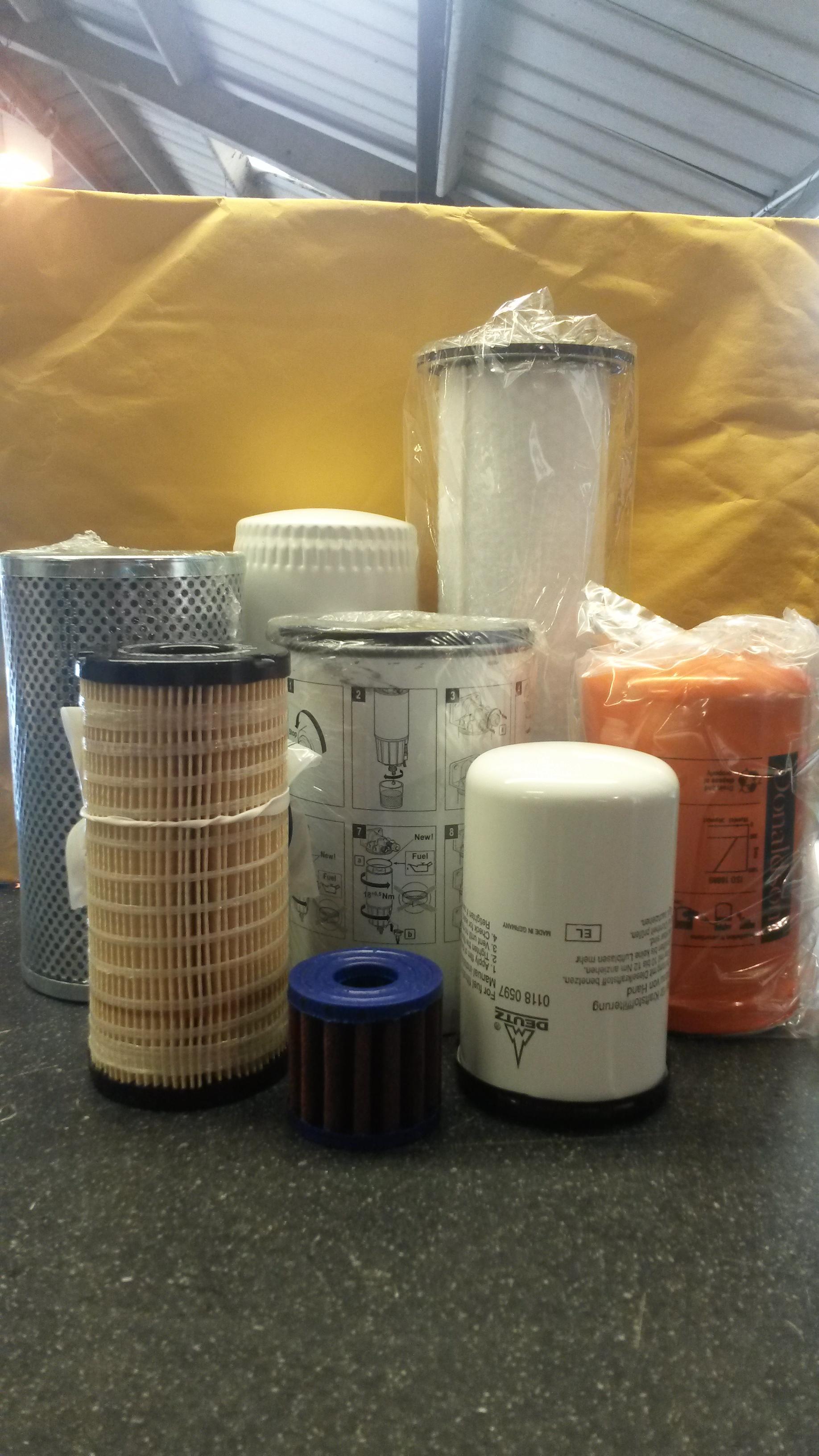 Merlo P32.12 Filter Service Kit