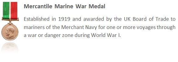 The Mercantile Marine War Medal