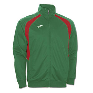 Joma Champion III Tracksuit Jacket-GREEN & RED