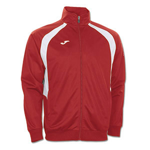 Joma Champion III Tracksuit Jacket- RED & WHITE