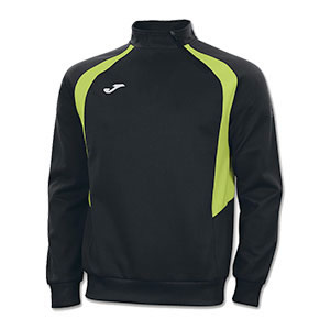 Joma Champion III 1/4 Zip Jacket- BLACK & LIME