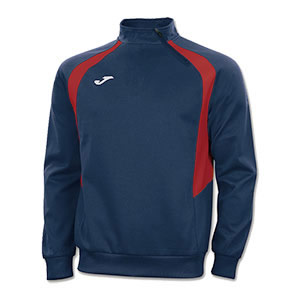 Joma Champion III 1/4 Zip Jacket- NAVY & RED