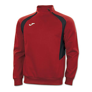 Joma Champion III 1/4 Zip Jacket -RED&BLACK