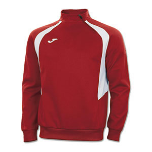 Joma Champion III 1/4 Zip Jacket -RED&WHITE