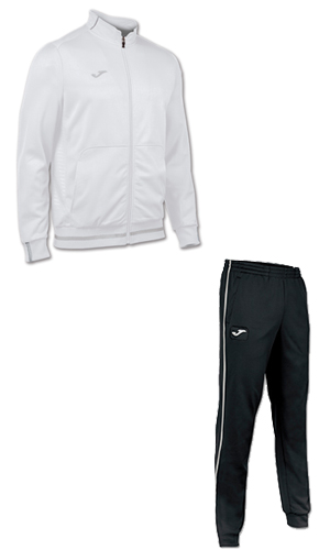 Joma Campus II Tracksuit- WHITE