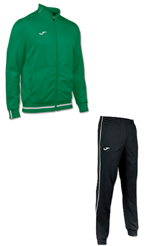 Joma Campus II Tracksuit- GREEN