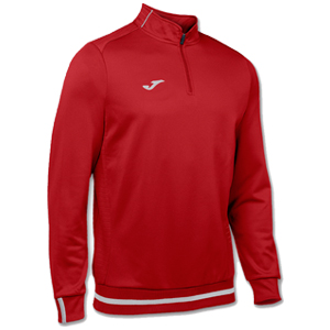 Joma Campus II Polyester 1/4 Zip - RED
