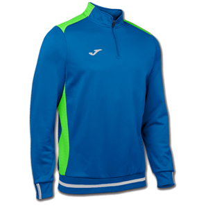 Joma Campus II Polyester 1/4 Zip -BLUE&GREEN