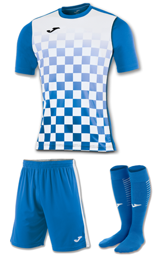 JOMA FLAG KIT BLUE AND WHITE