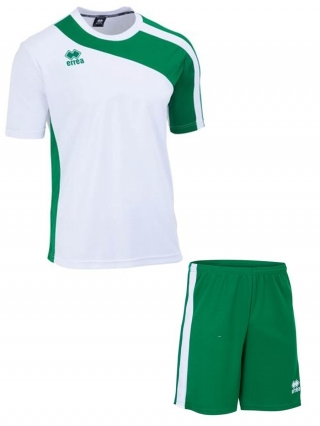 ERREA BOLTON SET SS - WHITE & GREEN