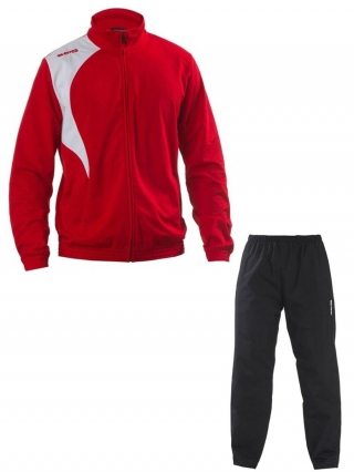 ERREA CLAYTON TRACKSUIT- RED