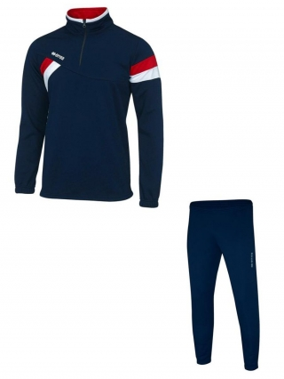 ERREA FRANKLIN TRACKSUIT- NAVY RED&WHITE