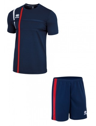 Errea Mateus SS SET -NAVY & RED