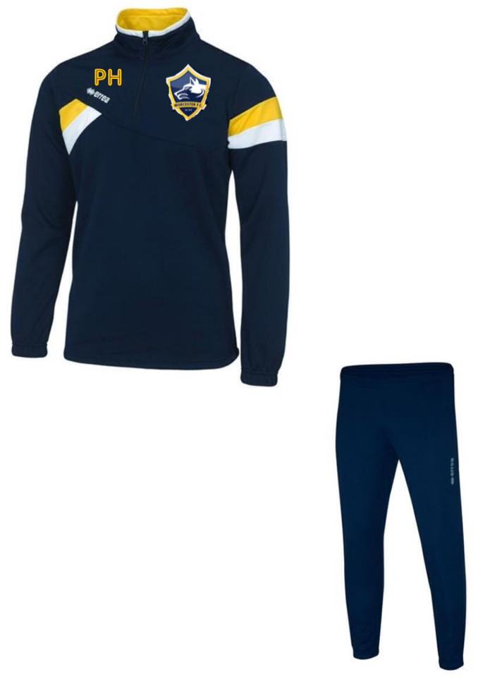 WORCESTER FC TRACKSUIT