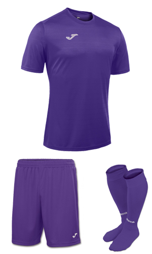 Joma Campus II SS Kit-  PURPLE