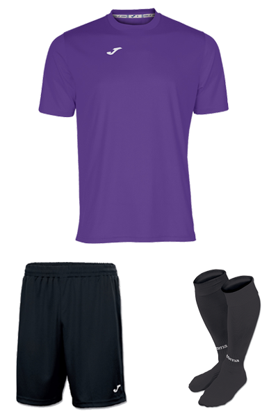 Joma Combi Kit-PURPLE & BLACK