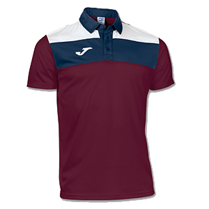 Joma Crew Polo Shirt- WINE
