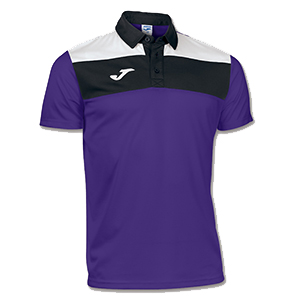 Joma Crew Polo Shirt-PURPLE