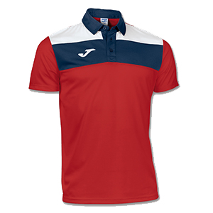 Joma Crew Polo Shirt- RED