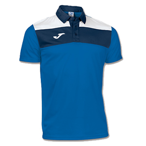 Joma Crew Polo Shirt- BLUE