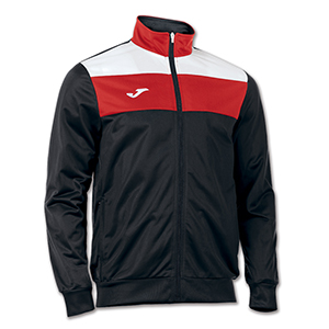 JOMA CREW JACKET- BLACK RED &WHITE