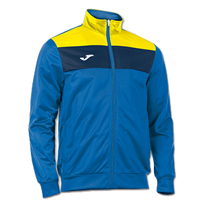 JOMA CREW JACKET- BLUE YELLOW &NAVY